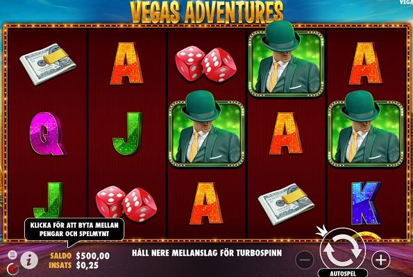 Spela Vegas Adventures with MrGreen nu!