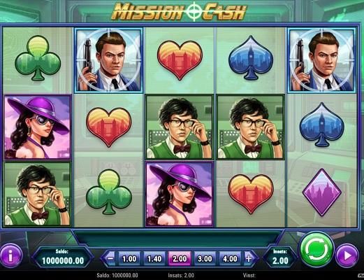 Vinn upp till 5000x gånger insats i Mission Cash!
