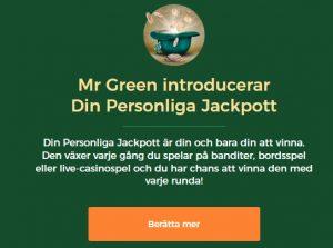 Vinna mera på slots via Din personliga jackpott på Mr Green!