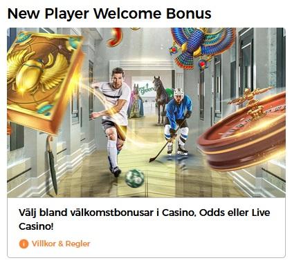 Spela Vegas Slots hos Mr Green Casino!